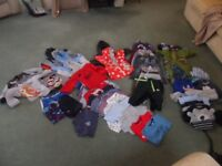 Boys Clothing Size 12/18 Mths