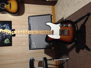 Fender Mexican Telecaster ( There's no case included )