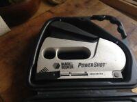 Black & Decker powershot stapler