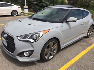 2014 Hyundai veloster turbo 31k Hyundai serviced loaded