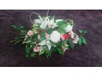 Wedding Flowers artificial display