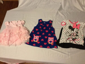 Lot of Girls Clothes 6-9/6-12 mos