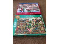 Jigsaw puzzles- 17 in total