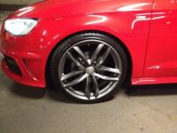 """19"""" audi rs6 alloy wheels (no tyres)"""
