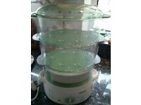 Tefal 3 tier steamer. Full working order ,collection only