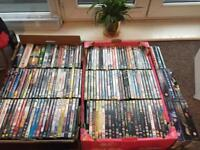 153 x DVD's and Boxsets carboot, ebay, re sell bulk