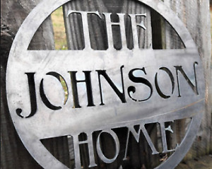 Personalized Signs - Wedding Decor, Home Decor, Address Signs