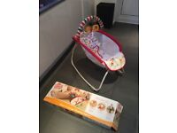 Bright Starts Rock, Lounge or Play baby crib