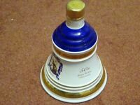 Bells Whiskey Decanter commemorating The Queens 50th Wedding Anniversary. Unopened.