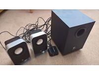 Logitech LS21 2.1 Computer Speakers