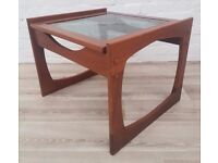 Teak Side Table (DELIVERY AVAILABLE FOR THIS ITEM OF FURNITURE)
