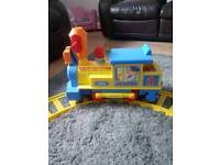 Tomy kids ride on train and track
