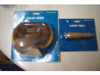 Light Pull and Soap Dish