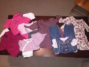 3-6 Month Baby Girl Fall Winter Lot