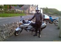 Honda NT650v Deauvile, V twin shaft drive, Silver, Good condition, 11 months MOT