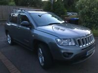 Jeep Compass Limited 2012, CVT automatic gearbox, 2.4 Pterol, 170PS, CatC