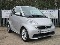 SMART FORTWO 1.0L MHD 71BHP SOFTOUCH PASSION CONVERTIBLE 2014 48K FSH / 1YRS MOT