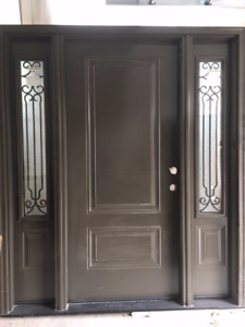 Front Entrance Door & Sidelites