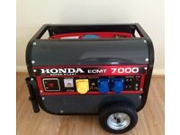 New Unwanted gift never used Honda generator 7kva