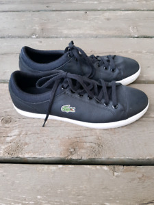LACOSTE Straight Set leather sneakers men's  size 8