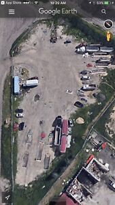 Storage Parking Available For Equipment &Semis