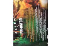 Alien @ predator movie maniacs figures boxed never opened