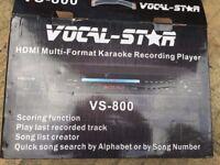 Vocal Star Karaoke Recording Player
