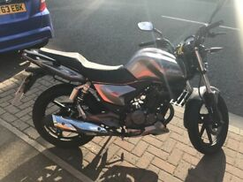 Keeway RKS 125cc ONLY 2200 miles. 3 months of MOT