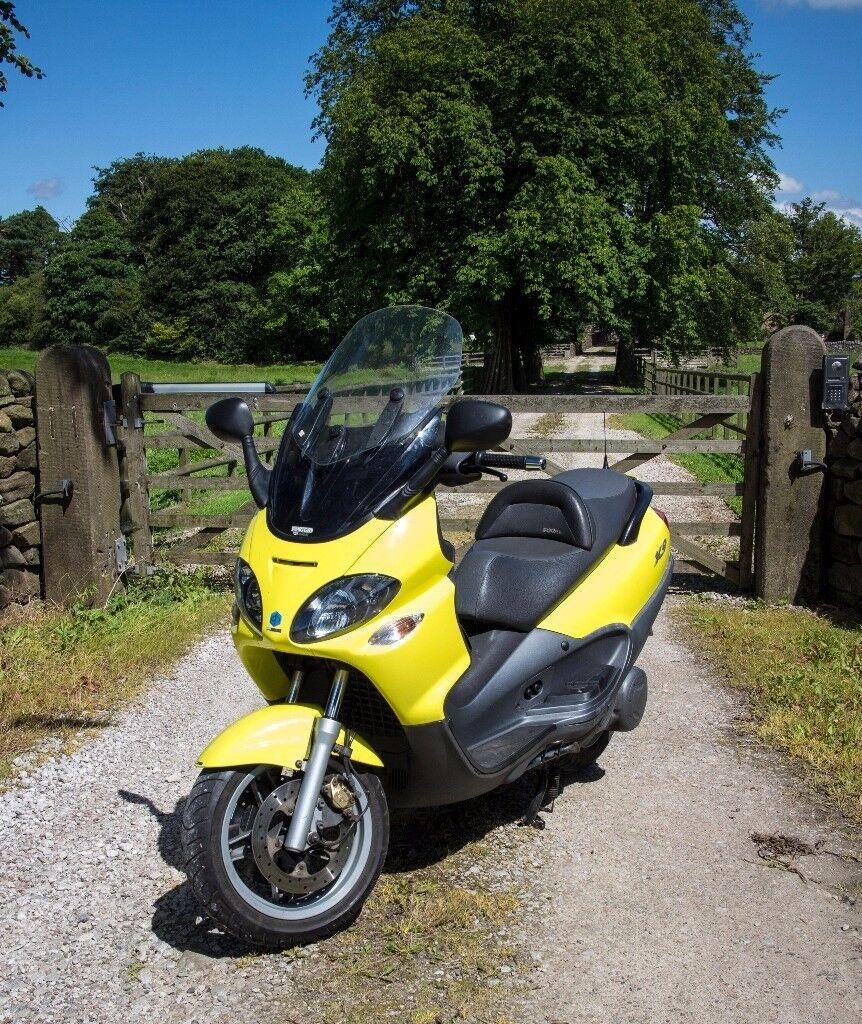 piaggio x9 500cc sl model-superb condition long mot,finance free