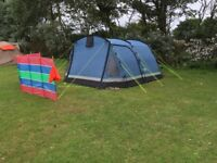 Kyham 5 berth family tent, used for 6 days