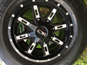 265/70/R17 Cooper Tires with Rims