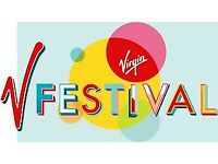 V festival 2 tickets Sunday 20th August Hylands Park