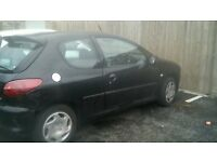 Peugeot 206 NEED GONE ASAP...is a runner but selling as spares/repairs