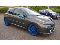 PEUGEOT 207 1.6 16V GTi Pack THP 175 3dr A Very Special Car Waranted+Serviced+Moted (grey) 2007