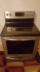 Frigidaire Stainless Steel glass top Stove for sale**