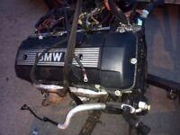 BMW E46 B54 2200cc STRAIGHT 6 22 6S 1 COMPLETE ENGINE
