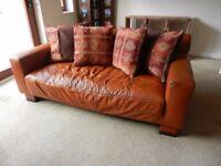 Tetrad Leather Sofa Set