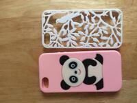 2 IPhone 5 & 5s cases