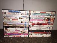 77 DVDs for sale
