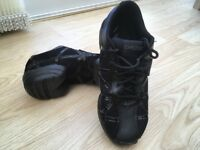 Black Capezio dance sneakers shoes