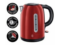 Russell Hobbs Westminster Red Stainless Steel Kettle