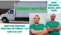 CHEERS MOVERS – FAST, RELIABLE, CLEAN, AND SAFE! 69$