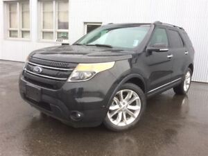 2013 Ford Explorer Limited, 4X4 Leather, heated steering wheel.