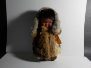 VINTAGE ESKIMO DOLL BY REGAL FROM 1960'S
