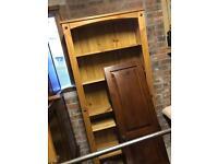 Bookcase shelve