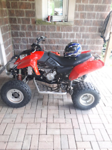 Polaris 500  four wheeler