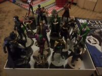 DC CHESS SET - 1-67 FIGURINES AND MAGAZINES + 2 SPECIAL ISSUES + CHESS BOARD