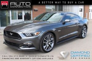 "2017 Ford Mustang GT Premium ** LEATHER ** NAV ** 20"" WHEELS **"