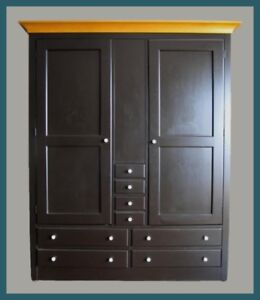 MEDIA CENTER / STORAGE CLOSET / ARMOIRE / WARDROBE