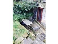 2 LARGE DOUBLE BEDROOM FLAT - LARGE PRIVATE GARDEN - VERY CENTRAL LOCATION - FREE WIFI+FREEIEW